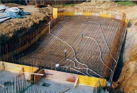 Piscine in cemento piscine interrate e accessori per for Piani di progettazione della piscina