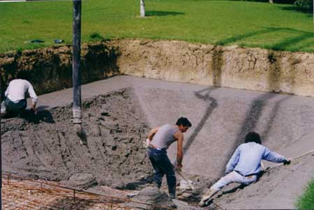Piscine in cemento prefabbricato piscine interrate e accessori per piscine tanti consigli - Piscine in cemento ...
